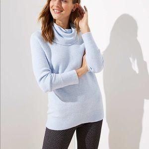 LOFT turtle neck tunic sweater